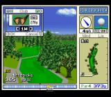 True Golf Classics: Pebble Beach Golf Links SNES Select your club.