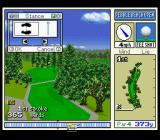 True Golf Classics: Pebble Beach Golf Links SNES Set your stance.