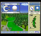 True Golf Classics: Pebble Beach Golf Links SNES Set the power of the swing.
