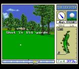 True Golf Classics: Pebble Beach Golf Links SNES I hit it 151 yards.
