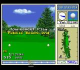 True Golf Classics: Pebble Beach Golf Links SNES Starting at hole 2.