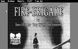 Fire-Brigade: The Battle for Kiev - 1943 DOS Title screen (CGA)