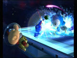Super Smash Bros.: Brawl Wii A pokemon, piplup, attacks for those who released it.