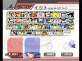 Super Smash Bros. Brawl Wii The character selection screen