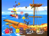 Super Smash Bros.: Brawl Wii Batter coins out of your opponent, he who holds the most wins. Would you really kill you friend for the prize inside?