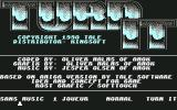 Turn It Commodore 64 Title screen and main menu