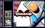 I Play: 3D Tennis DOS Main menu (VGA)