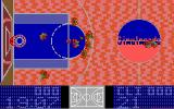 The Basket Manager DOS The opponent is trying to score (EGA/VGA).