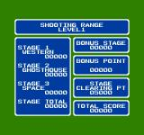 Shooting Range NES Showing all the points you've accumulated.