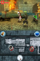 Assassin's Creed: Altaïr's Chronicles Nintendo DS Some fighting action