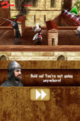 Assassin's Creed: Altaïr's Chronicles Nintendo DS Fight on the roof