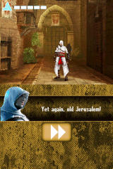 Assassin's Creed: Altaïr's Chronicles Nintendo DS The graphics are the best point of the game.