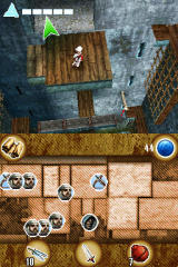 Assassin's Creed: Altaïr's Chronicles Nintendo DS The camera is well-defined.