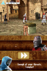 Assassin's Creed: Altaïr's Chronicles Nintendo DS Some mess with templars