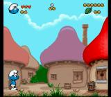 The Smurfs SNES The starting location