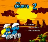 The Smurfs Travel the World SNES Main menu