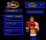 Boxing Legends of the Ring Genesis Create-A-Boxer; modifying general attributes