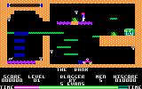 Blagger Amstrad CPC Blagger travels on a conveyor belt toward his first key