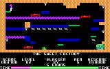 Blagger Amstrad CPC Level 2: The Sweet Factory