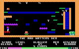 Blagger Amstrad CPC Level 3: The Mad Hatter's Den