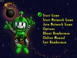 Atomic Bomberman Windows Main menu