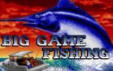 Big Game Fishing DOS Title Screen (VGA)