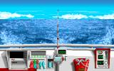 Big Game Fishing DOS Start of simulation mode (VGA)