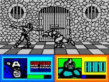 The Amazing Spider-Man and Captain America in Dr. Doom's Revenge! ZX Spectrum Keep distances with this one.