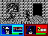 The Amazing Spider-Man and Captain America in Dr. Doom's Revenge! ZX Spectrum Fighting with Zaran