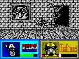 The Amazing Spider-Man and Captain America in Dr. Doom's Revenge! ZX Spectrum Batroc is going to bite the dust.