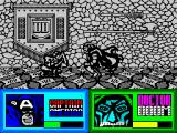 The Amazing Spider-Man and Captain America in Dr. Doom's Revenge! ZX Spectrum The final boss is easier to defeat when you duck.