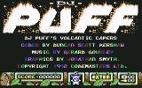 DJ Puff Commodore 64 Title screen and credits