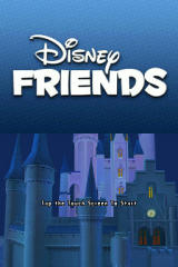 Disney Friends Nintendo DS Title screen