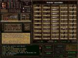Jagged Alliance 2 Windows Inventory management (German version).