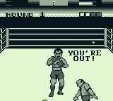 George Foreman's KO Boxing Game Boy Foreman is out!