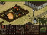 Jagged Alliance 2 Windows Tanks are extremely dangerous and can only be destroyed with missile weapons (German version).