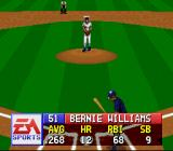 MLBPA Baseball SNES First up in Bernie Williams. These are his stats.
