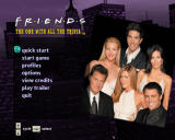 Friends: The One with All the Trivia Windows Main Menu