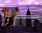 Friends: The One with All the Trivia Windows Question about Pheobe