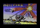Hellfire Attack Commodore 64 Title screen