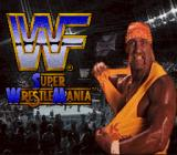 WWF Super WrestleMania SNES Title screen