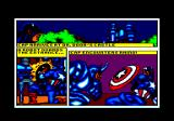 The Amazing Spider-Man and Captain America in Dr. Doom's Revenge! Amstrad CPC The story is told in comic panels. Cap arrives at the castle and has to fight a robot then the Rhino.