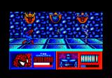 The Amazing Spider-Man and Captain America in Dr. Doom's Revenge! Amstrad CPC Spidey shot some web.