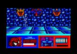The Amazing Spider-Man and Captain America in Dr. Doom's Revenge! Amstrad CPC Spidey can cling to the ceiling, for a short time.