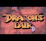 Dragon's Lair Game Boy Color Animated intro