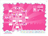 Hello Kitty: Dream Carnival Windows Match pairs of friends on the ferris wheel