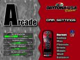 Daytona USA Deluxe Windows Eight cars with adjustable settings