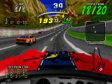 Daytona USA Deluxe Windows Interior camera also reflects your car's damage.