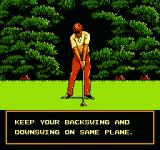 Golf Grand Slam NES Intro cutscene