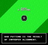 Golf Grand Slam NES You're given advice after finishing a hole